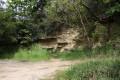 Stará pískovna - Brno-Obřany. Celkový pohled směrem od přístupové komunikace.