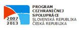 OP Přeshraniční spolupráce SR-ČR 2007-2013