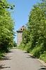 Obr. 16 - Hradní věž v cíli příkrého stoupání